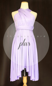 TDY Lilac Short Infinity Dress