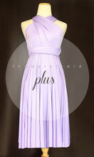 Load image into Gallery viewer, TDY Lilac Short Infinity Dress
