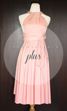 Load image into Gallery viewer, TDY Peach Short Infinity Dress