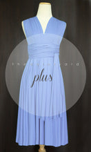 Load image into Gallery viewer, TDY Periwinkle Short Infinity Dress