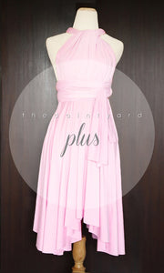 TDY Sweet Pink Short Infinity Dress