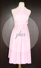Load image into Gallery viewer, TDY Sweet Pink Short Infinity Dress