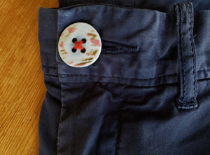 REPLAY USA: How to sew a button