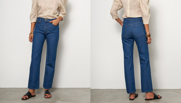 Brand New: Arts Jean in Nancy Wash by B Sides Denim
