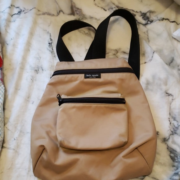kate spade new york ▪ mini backpack nylon camel color