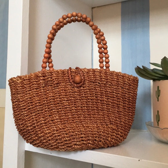 Mini Straw Hand Bag Made in the Philippines