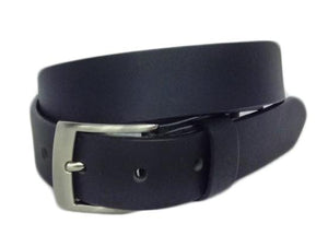 "Elite Full Grain Leather Black 1"" Wide Belt"