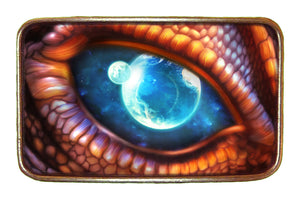 Dragon Planet Eye Buckle