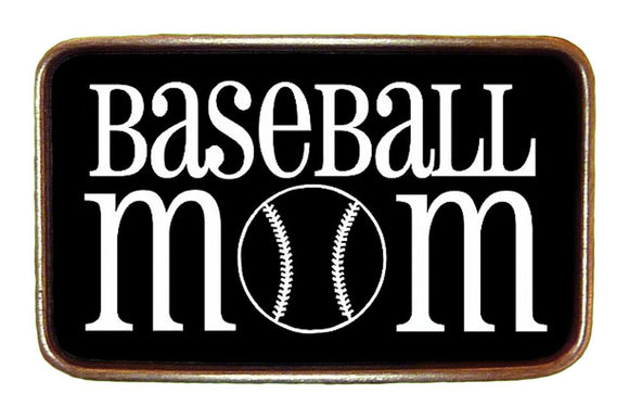 Baseball Mom Buckle