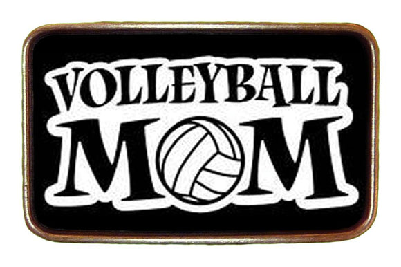 Volleyball Mom Buckle