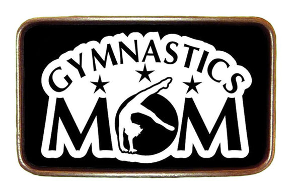 Gymnastics Mom Buckle