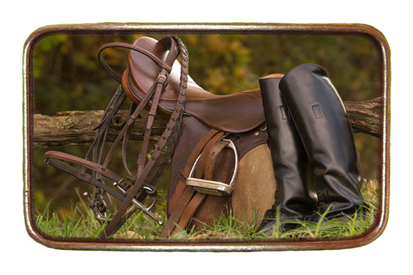 Saddle and Boots Buckle