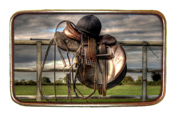 Saddle and Helmet Buckle