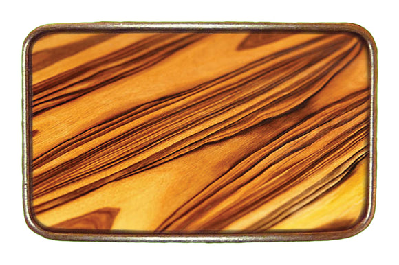 Wood Pattern Buckle