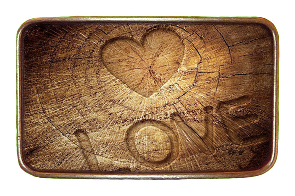 Love Wood Buckle