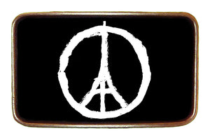 Eiffel Peace Buckle