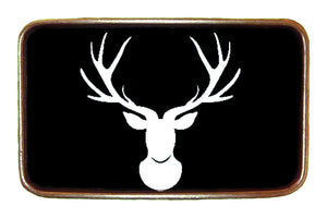 Deer Silhouette Buckle