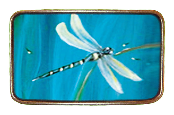Blue Dragonfly Buckle
