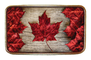 Canada Maple Leaf Flag Buckle