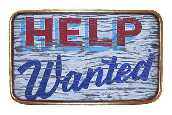 Help Wanted Buckle