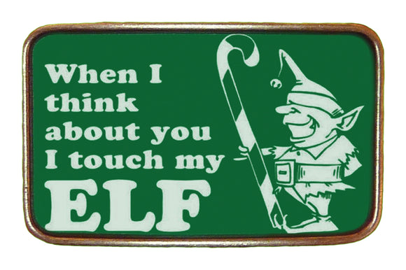 Touch My Elf Buckle