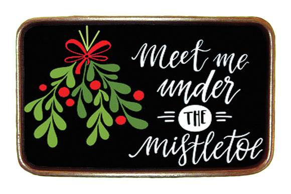 Meet Me Under the Mistletoe Buckle