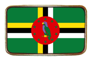 Dominica Flag Buckle