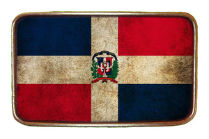 Dominican Republic Flag Buckle