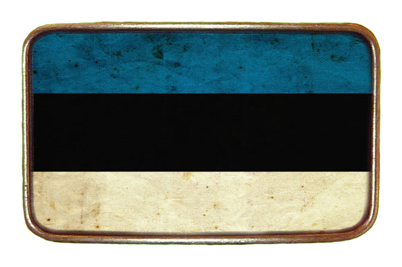 Estonia Flag Buckle