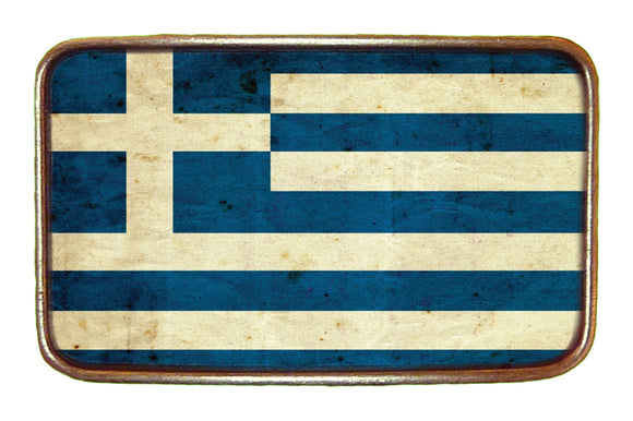 Greece Flag Buckle