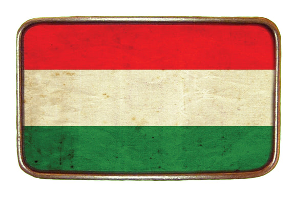 Hungary Flag Buckle