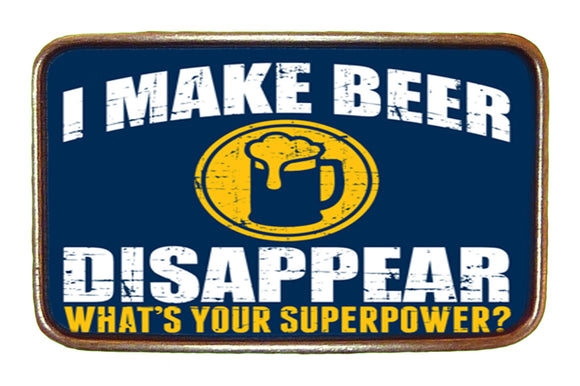 Beer Superpower Buckle