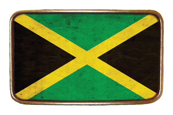 Jamaica Flag Buckle