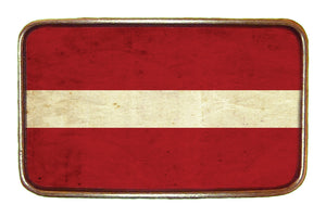 Latvia Flag Buckle