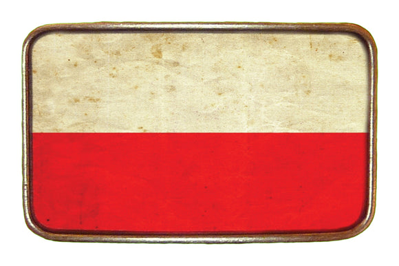 Poland Flag Buckle