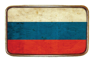 Russia Flag Buckle