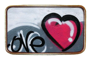 Love Graffiti Buckle