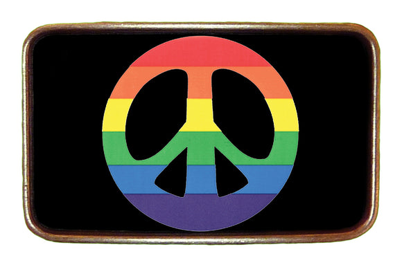 Pride Peace Buckle