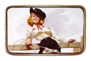 Lasso Pin Up Buckle