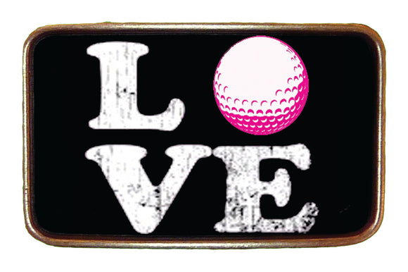 Love Golf Buckle