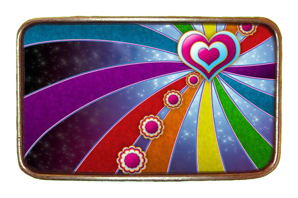 Love Rainbow Buckle