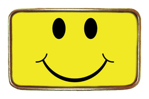 Smiley Face Buckle