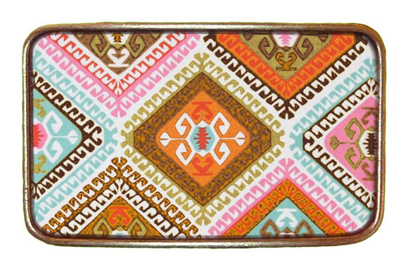Colorful Aztec Buckle