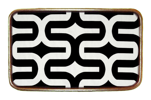 B/W Abstract Buckle