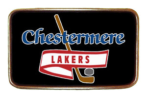 Lakers Black High Res Buckle