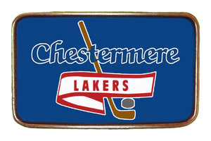 Lakers Blue High Res Buckle