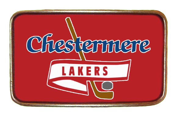 Lakers Red High Res Buckle