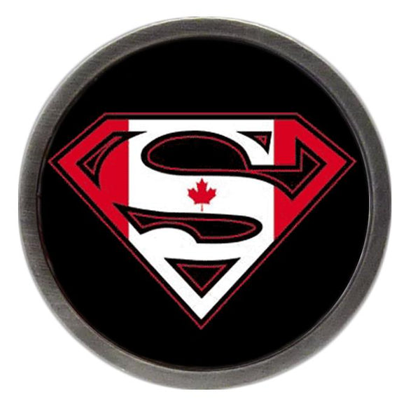 Canadian Flag Superman Clik