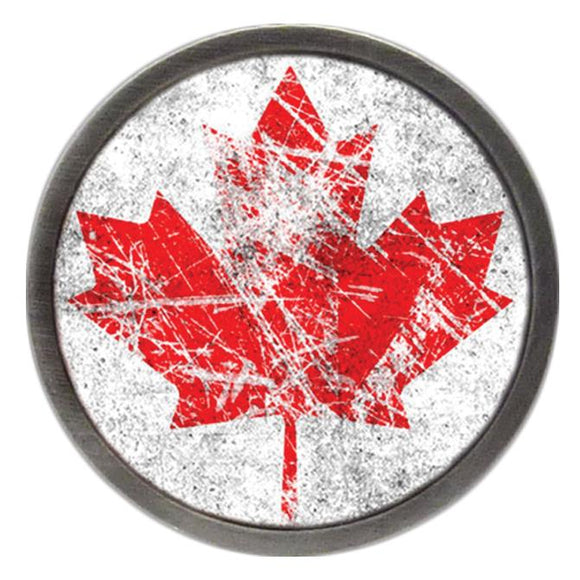 Canadian Flag Ice Hockey Clik