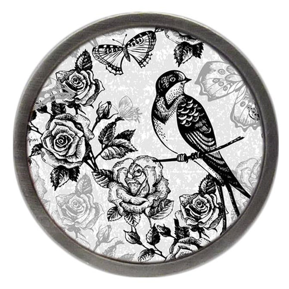 Bird, Rose & Butterfly Clik